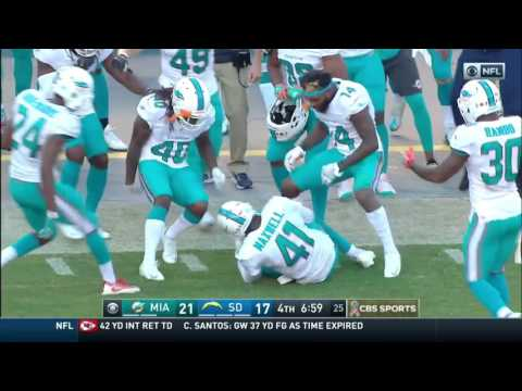 All Miami Dolphins 2016-2017 Interceptions
