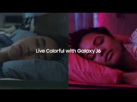 Samsung Galaxy J6 Colors