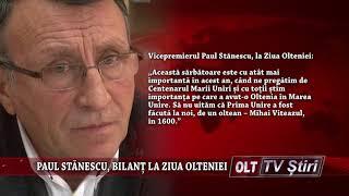 PAUL STANESCU BILANT LA ZIUA OLTENIEI 2203