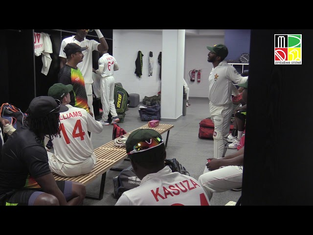 Behind The Scenes | Changing Room | Getting Ready For Test Match