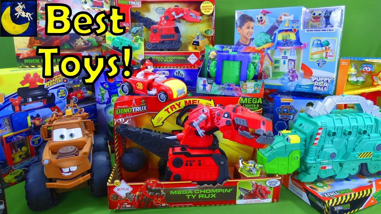 lots of best toys for christmas 2017 gift ideas dinotrux paw patrol toys disney cars 3 pj masks set - Best Toys For Christmas