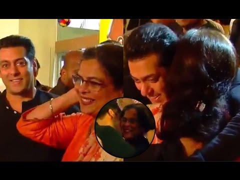 This Video of Reema Lagoo HUGGING Salman Khan is going VIRAL