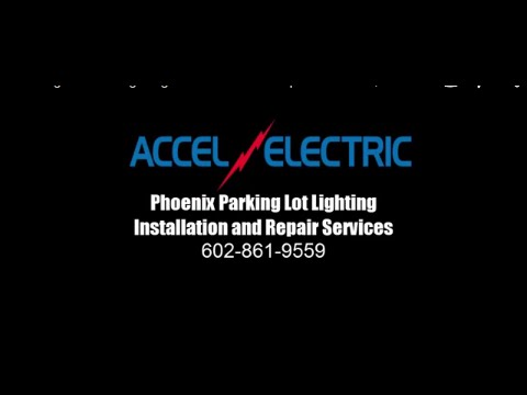 phoenix parking lot led lighting installation and repair services