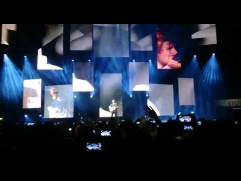 Ed Sheeran The A Team Stuttgart 15.11.14