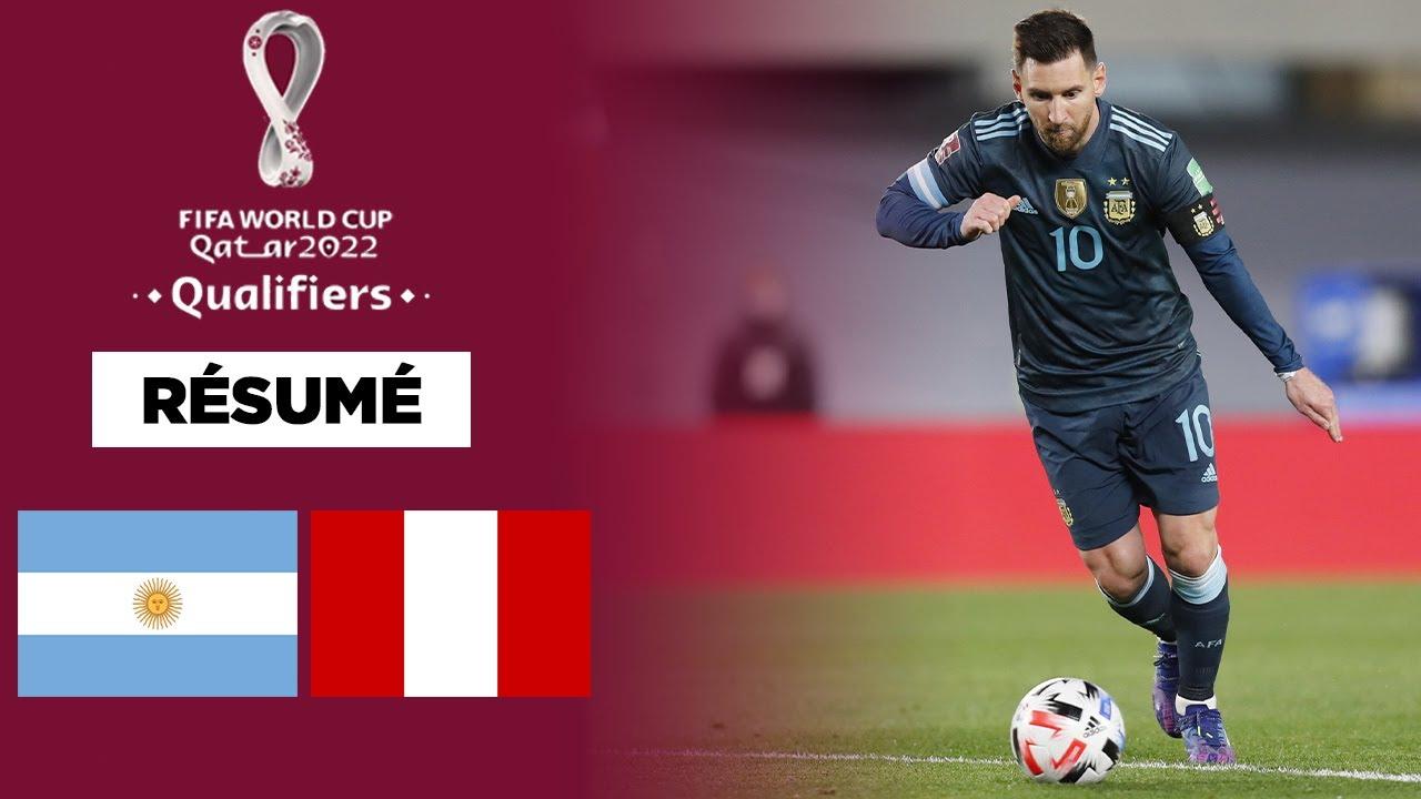 Download 🏆🌎 Résumé - Qualif. CDM 2022 : L'Argentine au forceps face au Pérou