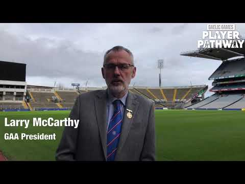 Gaelic Games Player Pathway launched.