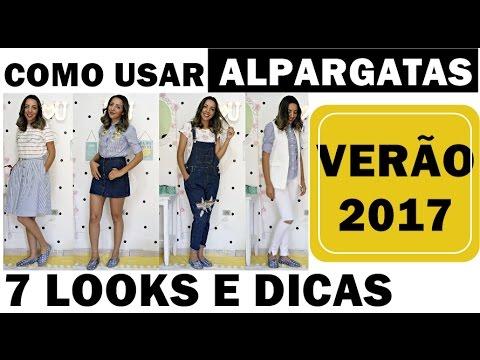 LOOKS E DICAS DE COMO USAR ALPARGATAS