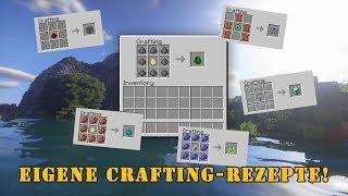 Eigene Crafting-Rezepte in Minecraft erstellen - Snapshot 17w48a