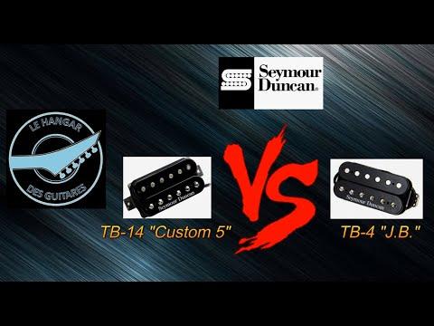"TEST : micros SEYMOUR DUNCAN ""Custom 5"" TB-14  versus ""J.B."" TB-4"