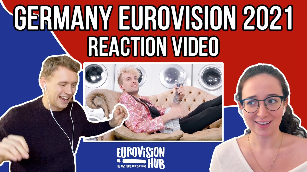 Germany   Eurovision 2021 Reaction   Jendrik - I Don't Feel Hate   Eurovision Hub