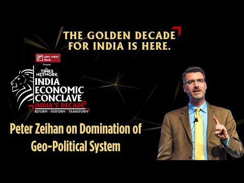 Who will Dominate the Geopolitical System in this Decade?   Peter Zeihan   IEC 2021
