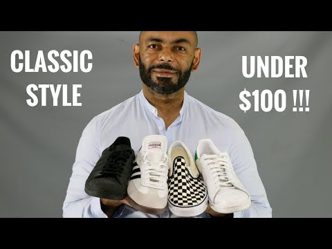 12 Most Stylish Classic Men's Sneakers Under $100/Best Classic Sneakers Under $100