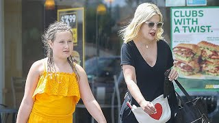 Tori Spelling Takes Her Daughter For Cake After Trolls Slam The Mother-Of-Five For Being Unhealthy