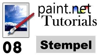 Paint.net Tutorial [German/Deutsch] - Stempel + Klonen | 8