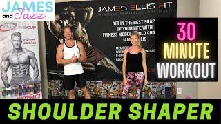Resistance Bands Shoulder Workout || High Intensity Interval Training || Fat Burning and Toning