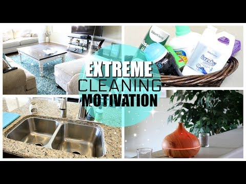 POWER HOUR CLEANING WHOLE HOUSE | EXTREME CLEANING MOTIVATION