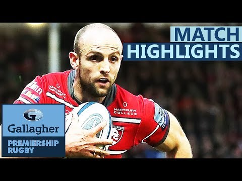 Yellow Card Proves Vital | Gloucester v Worcester Warriors | Gallagher Premiership Highlights