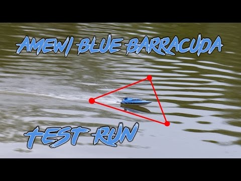 amewi-blue-barracuda-test-run-|-hd+-|-deutsch