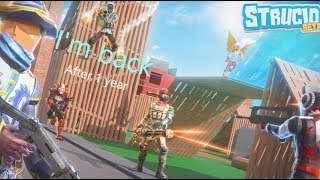 Returning to YouTube | Testing new editing software + bad Strucid (Roblox) Gameplay