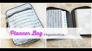 What's in my  planner bag?!