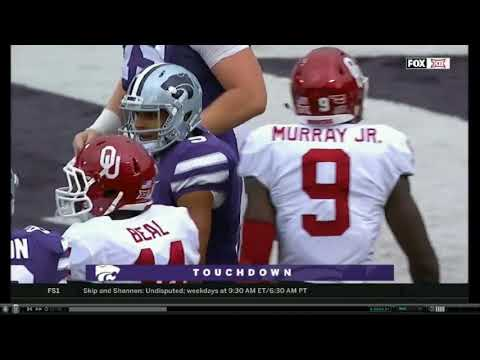 OKLAHOMA VS KANSAS STATE NO HUDDLE 2017