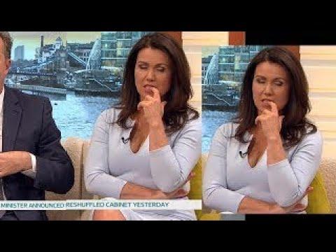 Teasing Breakfast Presenter MILF Susanna Reid Horny With BIG Cleavage. Great Heels. 12 6 1