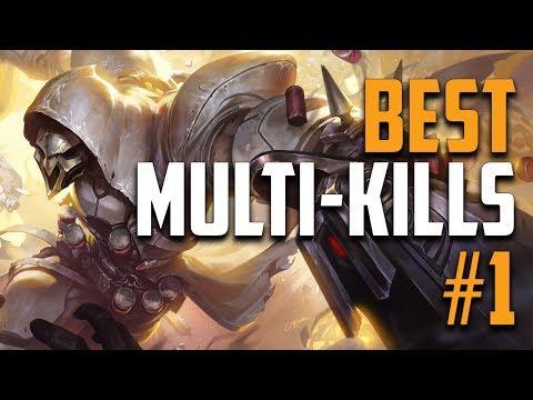 Overwatch - Best Multi-kill Moments #1 - Best of Overwatch
