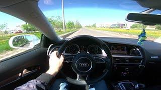 2015 Audi A5 1.8tfsi 170hp Pov Test Drive