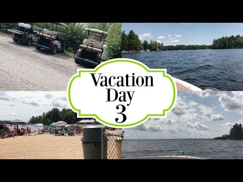 Vacation Vlog: 8/7/17 - Criminal Activity  We Got Pulled Over On The Lake?!