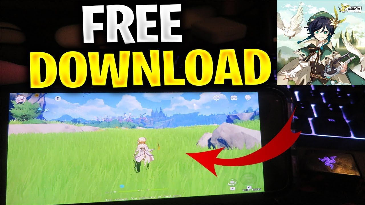 Genshin Impact Mobile Download Ios Android Apk 2020 Tutorial Youtube