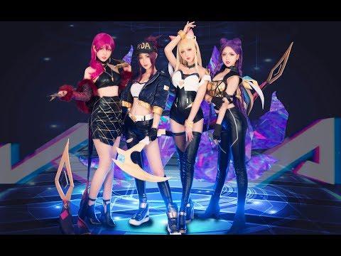 K/DA - POP/STARS Cosplay Dance Cover (Dance Only Ver.) by (BoliFlowerGarden)