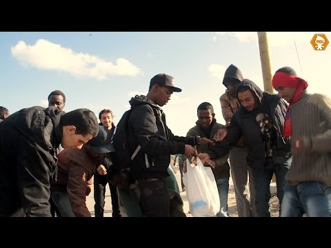 Migrant Crisis in Calais | Trollstation Experience