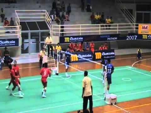 [HD] Sepaktakraw Thai League - part 1