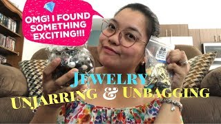 JEWELRY UNBAGGING & UNJARRING | I FOUND A TIFFANY & CO?!