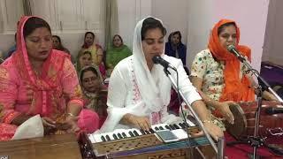 Gurbani Kirtan By Sukhleen Kaur at Gurudwara Khel Sahib 22 No Phatak Patiala 17/06/2018