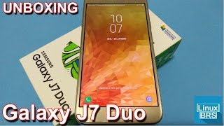 Samsung Galaxy J7 Duo - UNBOXING