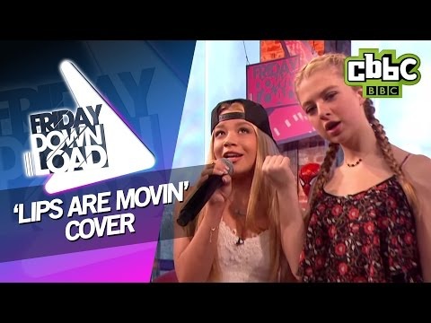 Meghan Trainor 'Lips Are Movin' cover with lyrics on CBBC Friday Download