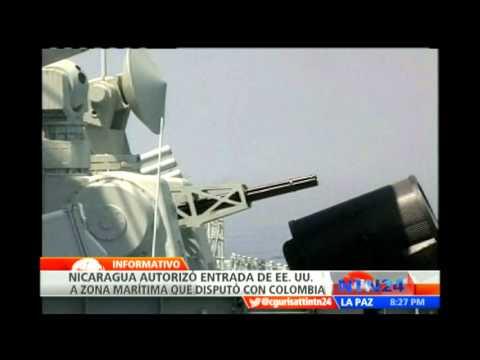 Nicaragua autoriza que EE.UU. patrulle en zona marítima delimitada con Colombia