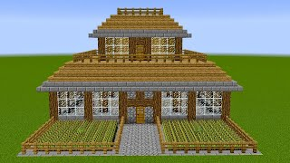 Minecraft - How to build a survival house 3