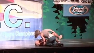 Hungry Phil Heath Falls Down On Stage