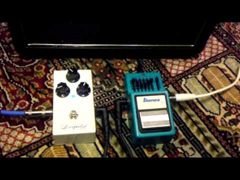 Ibanez GE9 EQ (with Lovepedal E6)