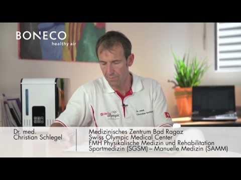 Das Swiss Olympic Team vertraut auf Luftbehandlungsgeräte aus Widnau SG / «BONECO healthy air - Luftbehandlungsgeräte sind zuverlässige Partner» (BILD/VIDEO/ANHANG)
