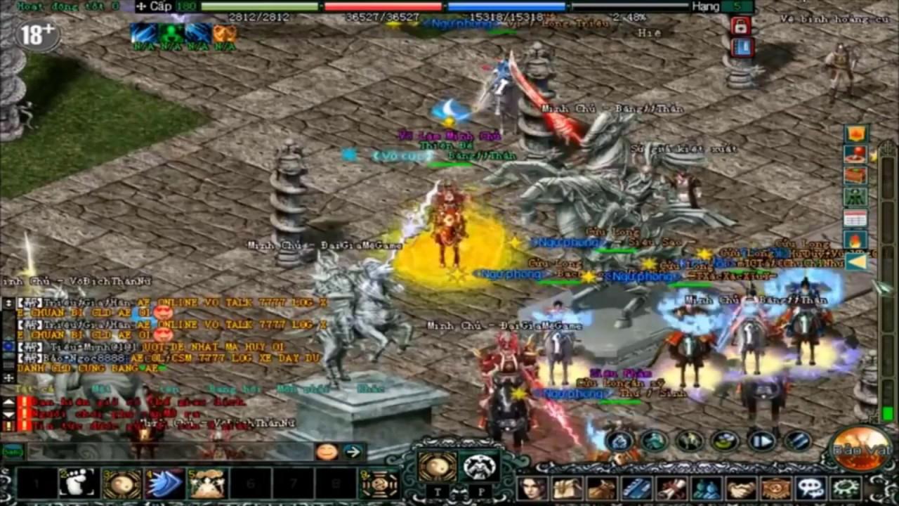 TOP Đại Gia Game Võ Lâm Truyền Kỳ 1