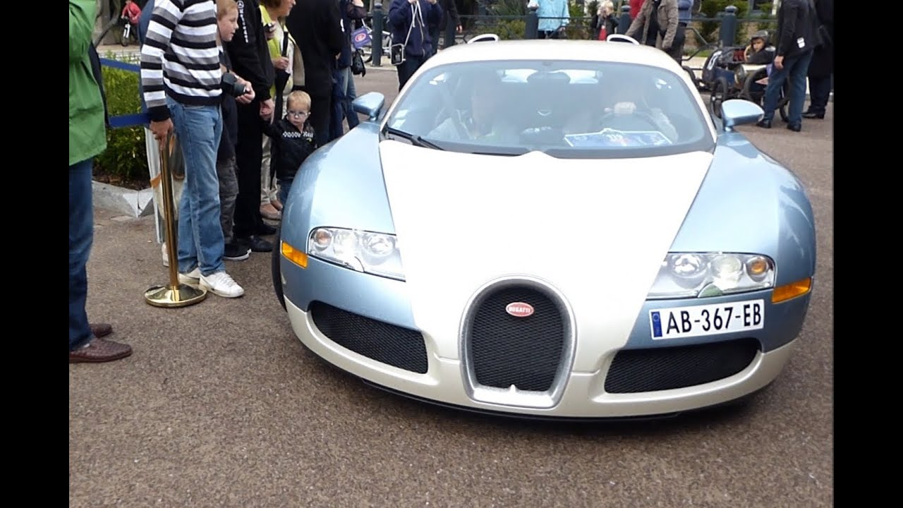 Who made the first bugatti