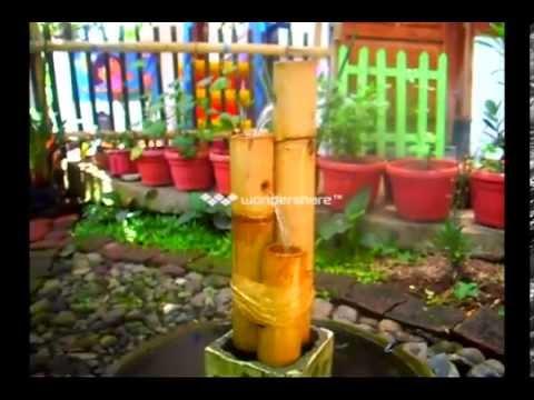 Air Mancur Menara Bambu aka Bamboo Tower Fountain