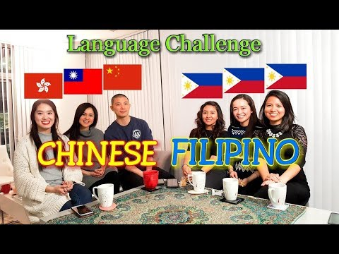 Similarities Between Chinese and Filipino