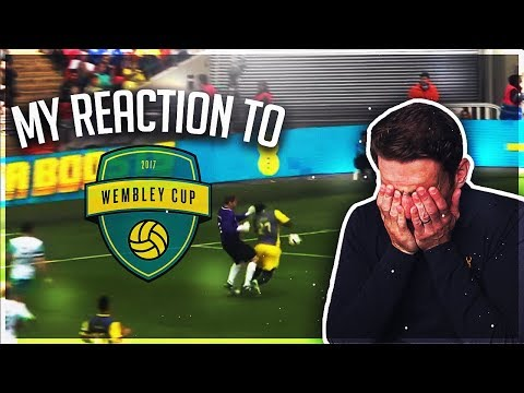 My reaction to my 2017 Wembley Cup performance!