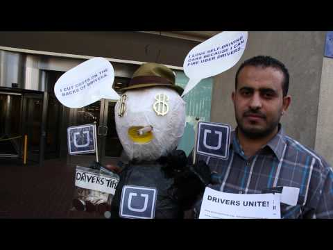 Why are Uber drivers protesting Uber?  Drivers reveal Uber