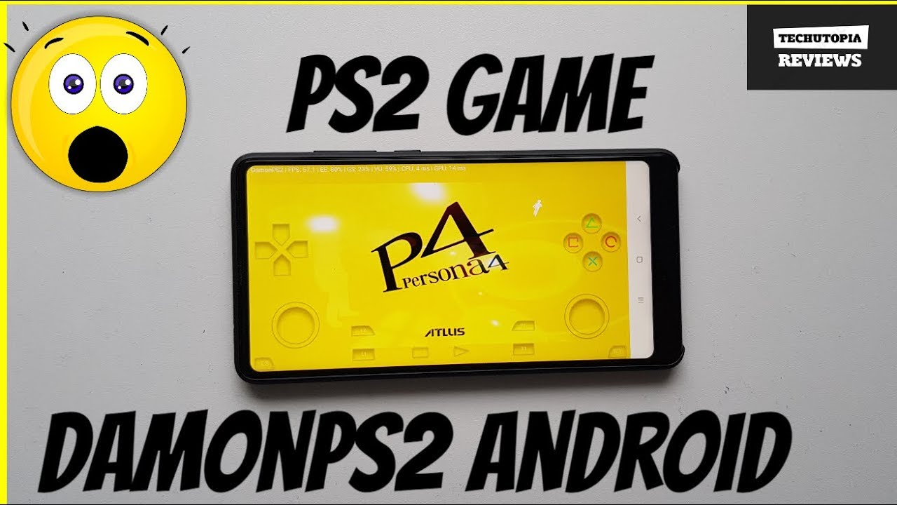 Persona 4 DamonPS2 Gameplay/android smartphone /Snapdragon 835/PS2 Games