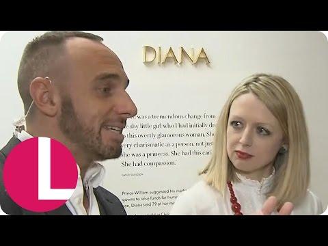 Mark Explores the 'Diana: Her Fashion Story' Exhibit | Lorraine